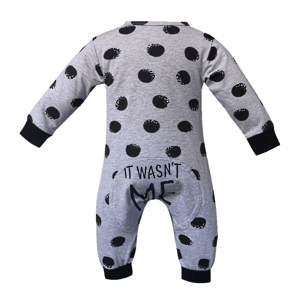 Funny Baby Onesies Back View