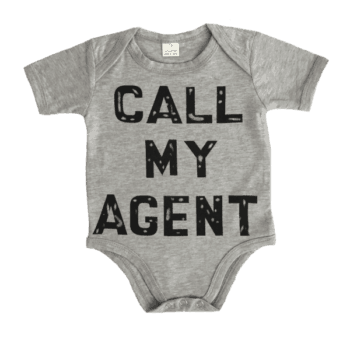Cool Baby Bodysuit with Short Sleeves