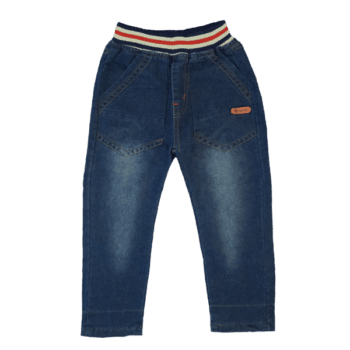 Dark Blue Denim Jeans for Kids
