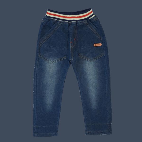 Dark Blue Denim Jeans for Kids
