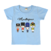 Kids Blue T Shirt with Graphic Print