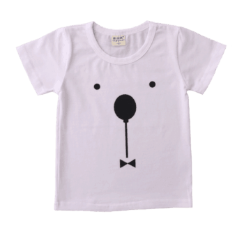 Cute Baby White T Shirt