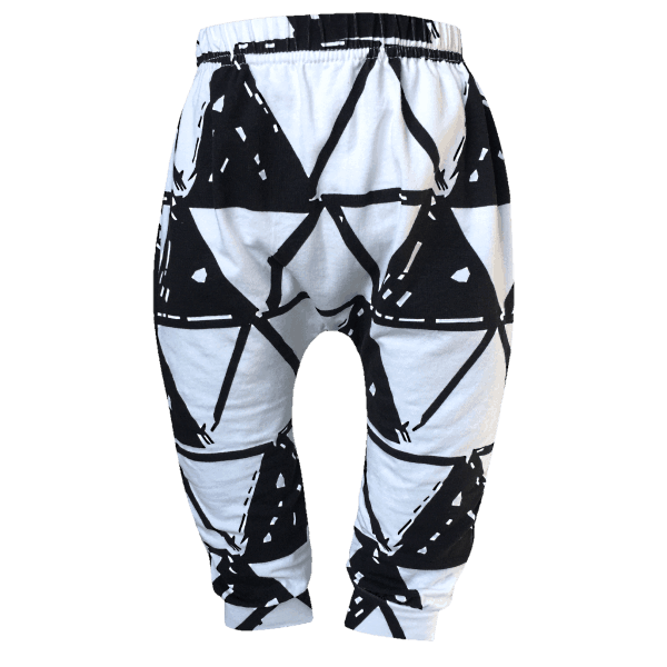 White & Black Baby and Toddler Pants
