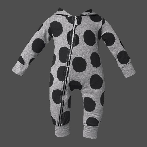 Cool baby onesies with hoodie