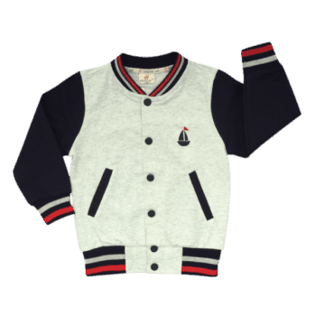 Kids winter jacket in baseball style