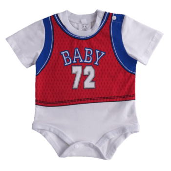 sporty infant bodysuit