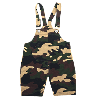 Toddler Camo Overalls