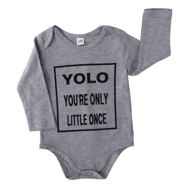 Cool baby rompers with long sleeves