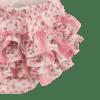 vintage floral romper close up