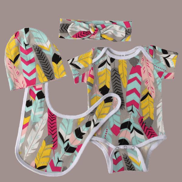 Baby girl clothes set