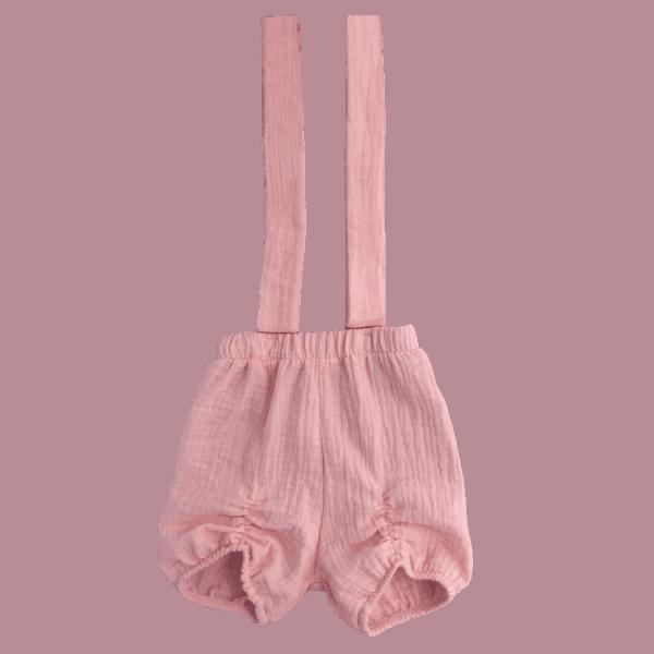 Baby Suspender Shorts