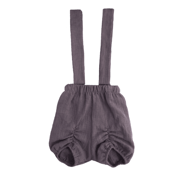 Suspender shorts for baby