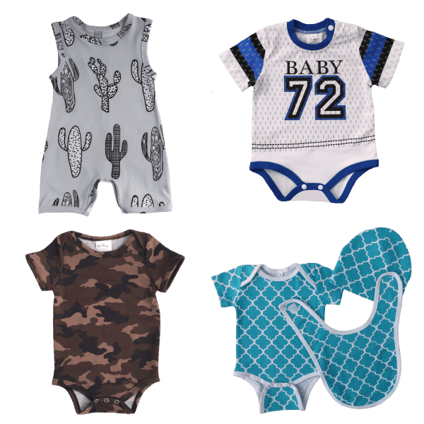 Infant boy summer clothes value pack