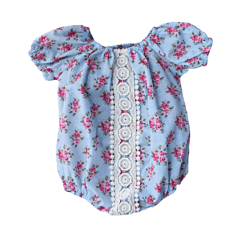Cotton Baby Bubble Romper