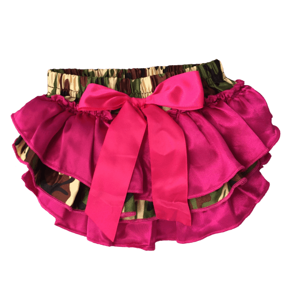 Baby Ruffle Bloomers - back view