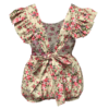 Frilly Baby Rompers Back View