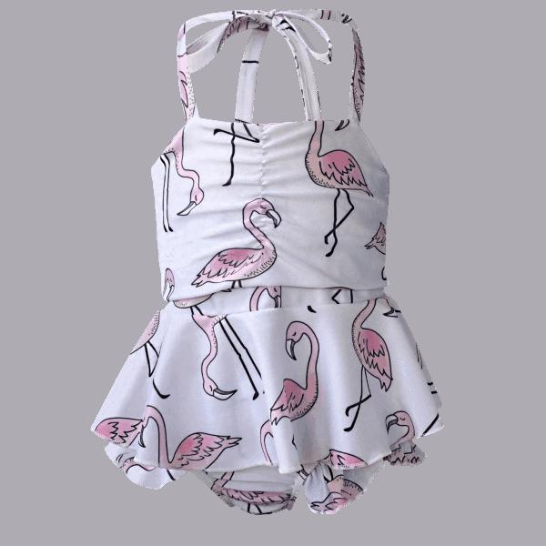 Girl's Swimsuit Set