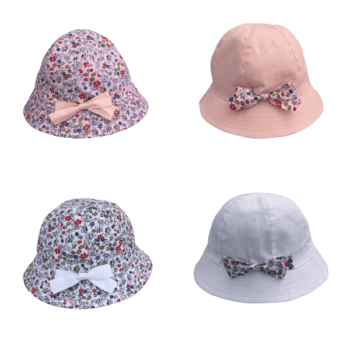 Cotton Baby Hat for Girls