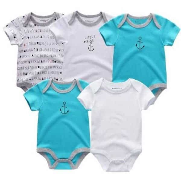 Baby Grows 5 Pack - Style 1