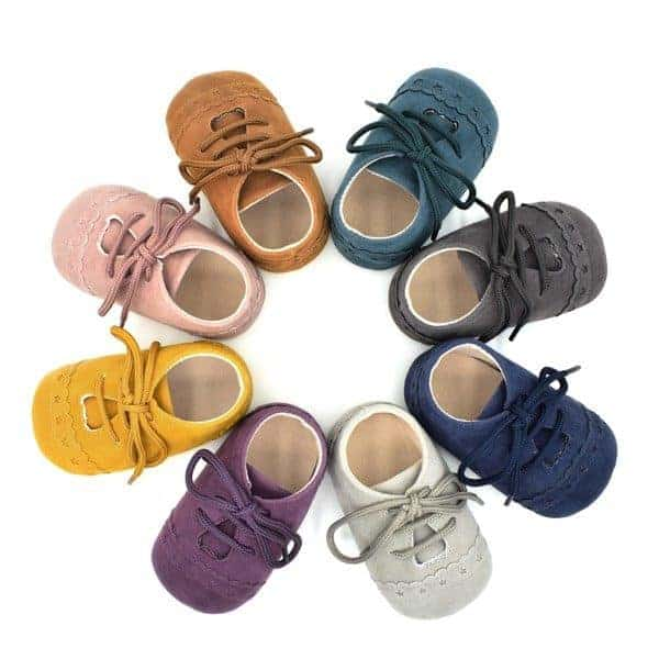 SOFT SOLE BABY SHOES | 7 TRENDY COLOURS