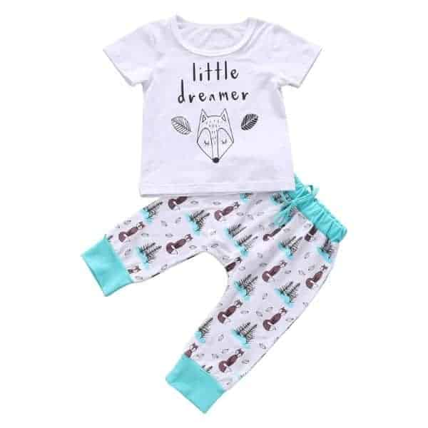 Cute Unisex Baby Outfit