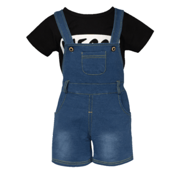 Baby Shortalls and T-Shirt Set