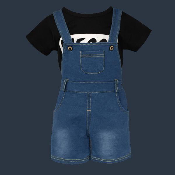 Baby Shortalls and T-Shirt Set