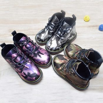 Super Cool Toddler Camo Boots