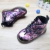 Toddler Camo Boots - Purple