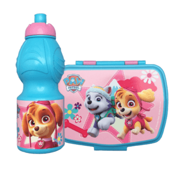 Skye Paw Patrol Lunchbox & Bottle Set